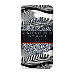 Sometimes Quiet Is Violent Twenty One Pilots The Meaning Of Blurryface Album HTC Butterfly S/HTC 9060 Hardshell Case