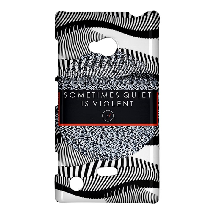 Sometimes Quiet Is Violent Twenty One Pilots The Meaning Of Blurryface Album Nokia Lumia 720