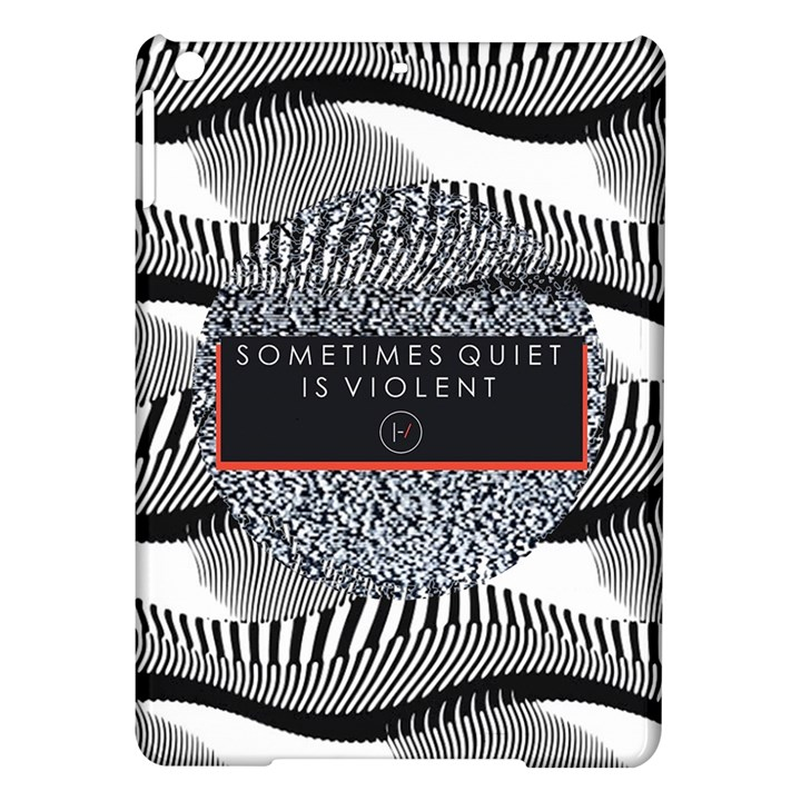 Sometimes Quiet Is Violent Twenty One Pilots The Meaning Of Blurryface Album iPad Air Hardshell Cases