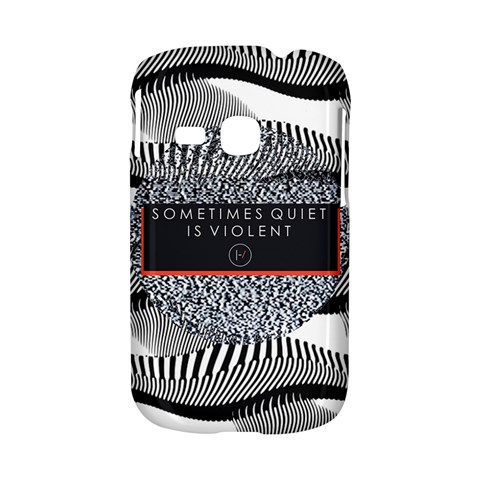 Sometimes Quiet Is Violent Twenty One Pilots The Meaning Of Blurryface Album Samsung Galaxy S6310 Hardshell Case