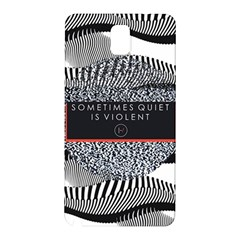 Sometimes Quiet Is Violent Twenty One Pilots The Meaning Of Blurryface Album Samsung Galaxy Note 3 N9005 Hardshell Back Case
