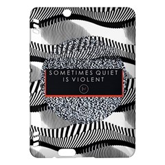 Sometimes Quiet Is Violent Twenty One Pilots The Meaning Of Blurryface Album Kindle Fire Hdx Hardshell Case