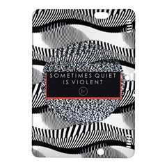 Sometimes Quiet Is Violent Twenty One Pilots The Meaning Of Blurryface Album Kindle Fire HDX 8.9  Hardshell Case