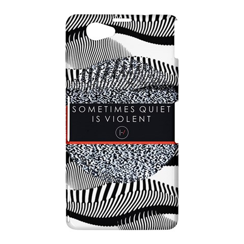 Sometimes Quiet Is Violent Twenty One Pilots The Meaning Of Blurryface Album Sony Xperia Z1 Compact