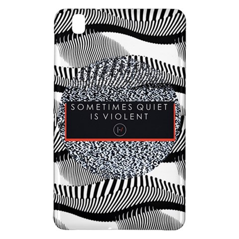 Sometimes Quiet Is Violent Twenty One Pilots The Meaning Of Blurryface Album Samsung Galaxy Tab Pro 8.4 Hardshell Case