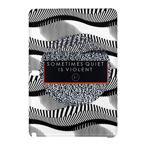 Sometimes Quiet Is Violent Twenty One Pilots The Meaning Of Blurryface Album Samsung Galaxy Tab Pro 12.2 Hardshell Case