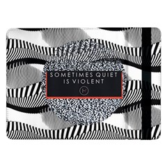 Sometimes Quiet Is Violent Twenty One Pilots The Meaning Of Blurryface Album Samsung Galaxy Tab Pro 12 2  Flip Case