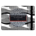 Sometimes Quiet Is Violent Twenty One Pilots The Meaning Of Blurryface Album Samsung Galaxy Tab Pro 12.2  Flip Case Front