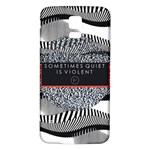 Sometimes Quiet Is Violent Twenty One Pilots The Meaning Of Blurryface Album Samsung Galaxy S5 Back Case (White) Front