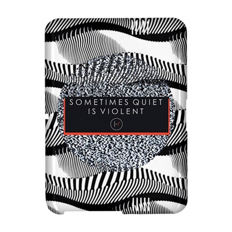 Sometimes Quiet Is Violent Twenty One Pilots The Meaning Of Blurryface Album Amazon Kindle Fire (2012) Hardshell Case