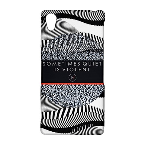 Sometimes Quiet Is Violent Twenty One Pilots The Meaning Of Blurryface Album Sony Xperia Z2