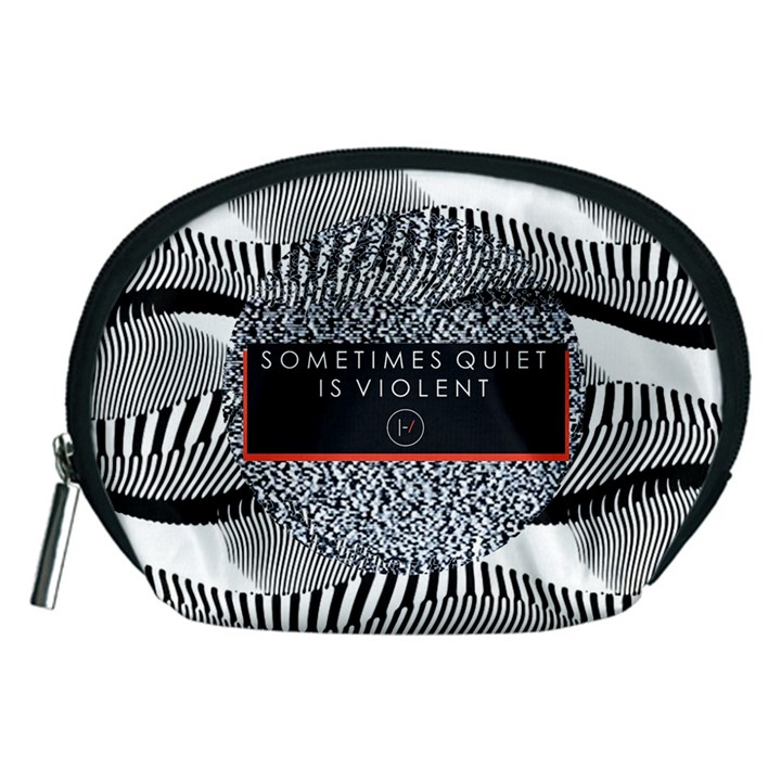 Sometimes Quiet Is Violent Twenty One Pilots The Meaning Of Blurryface Album Accessory Pouches (Medium)