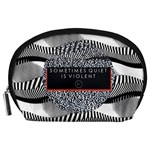 Sometimes Quiet Is Violent Twenty One Pilots The Meaning Of Blurryface Album Accessory Pouches (Large)  Front