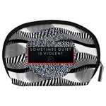 Sometimes Quiet Is Violent Twenty One Pilots The Meaning Of Blurryface Album Accessory Pouches (Large)  Back