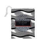 Sometimes Quiet Is Violent Twenty One Pilots The Meaning Of Blurryface Album Drawstring Pouches (Medium)  Back