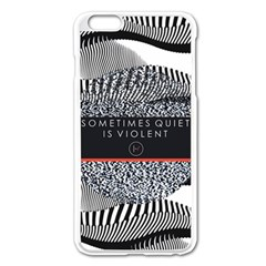 Sometimes Quiet Is Violent Twenty One Pilots The Meaning Of Blurryface Album Apple iPhone 6 Plus/6S Plus Enamel White Case