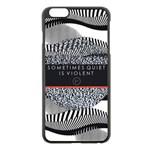 Sometimes Quiet Is Violent Twenty One Pilots The Meaning Of Blurryface Album Apple iPhone 6 Plus/6S Plus Black Enamel Case Front
