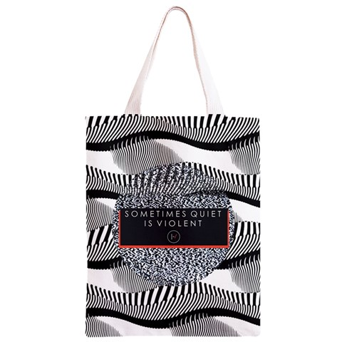 Sometimes Quiet Is Violent Twenty One Pilots The Meaning Of Blurryface Album Classic Light Tote Bag