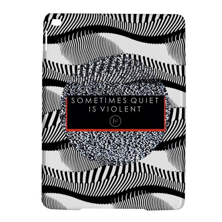 Sometimes Quiet Is Violent Twenty One Pilots The Meaning Of Blurryface Album iPad Air 2 Hardshell Cases