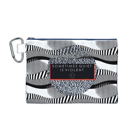Sometimes Quiet Is Violent Twenty One Pilots The Meaning Of Blurryface Album Canvas Cosmetic Bag (M)
