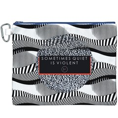 Sometimes Quiet Is Violent Twenty One Pilots The Meaning Of Blurryface Album Canvas Cosmetic Bag (xxxl)