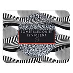 Sometimes Quiet Is Violent Twenty One Pilots The Meaning Of Blurryface Album Double Sided Flano Blanket (Large)  80 x60 Blanket Front