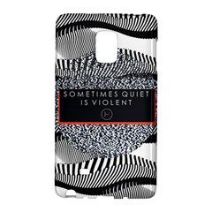 Sometimes Quiet Is Violent Twenty One Pilots The Meaning Of Blurryface Album Galaxy Note Edge
