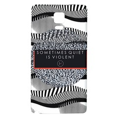 Sometimes Quiet Is Violent Twenty One Pilots The Meaning Of Blurryface Album Galaxy Note 4 Back Case