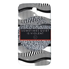 Sometimes Quiet Is Violent Twenty One Pilots The Meaning Of Blurryface Album Samsung Galaxy Mega I9200 Hardshell Back Case