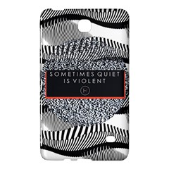 Sometimes Quiet Is Violent Twenty One Pilots The Meaning Of Blurryface Album Samsung Galaxy Tab 4 (7 ) Hardshell Case
