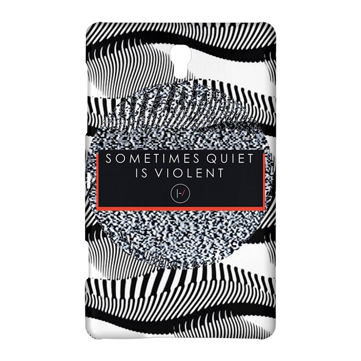 Sometimes Quiet Is Violent Twenty One Pilots The Meaning Of Blurryface Album Samsung Galaxy Tab S (8.4 ) Hardshell Case