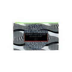 Sometimes Quiet Is Violent Twenty One Pilots The Meaning Of Blurryface Album Cosmetic Bag (XS)