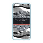 Sometimes Quiet Is Violent Twenty One Pilots The Meaning Of Blurryface Album Apple Seamless iPhone 6/6S Case (Color) Front