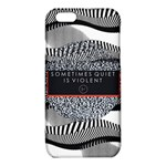 Sometimes Quiet Is Violent Twenty One Pilots The Meaning Of Blurryface Album iPhone 6/6S TPU Case Front