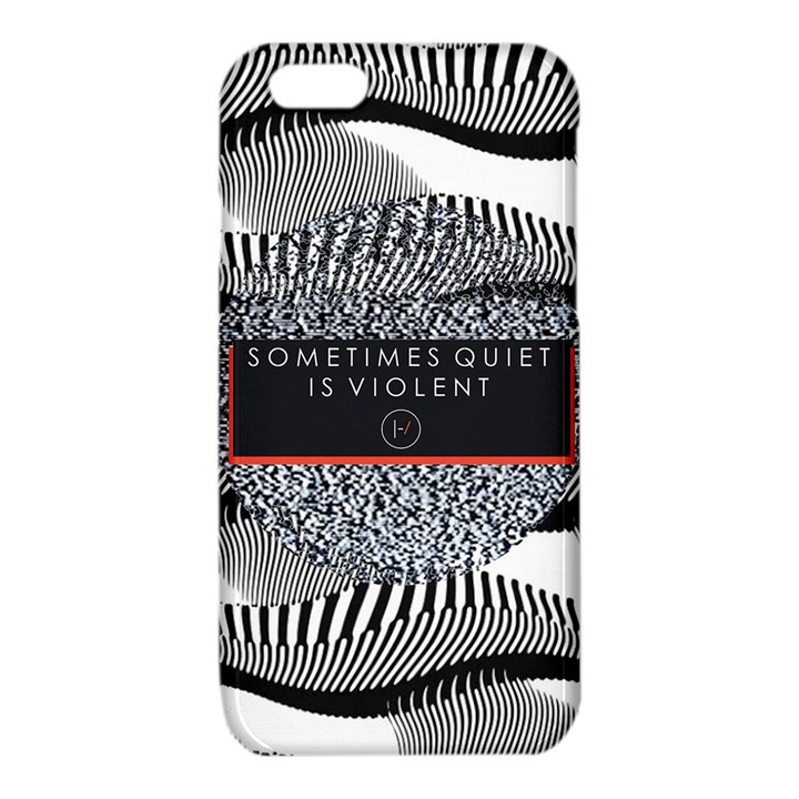 Sometimes Quiet Is Violent Twenty One Pilots The Meaning Of Blurryface Album iPhone 6/6S TPU Case