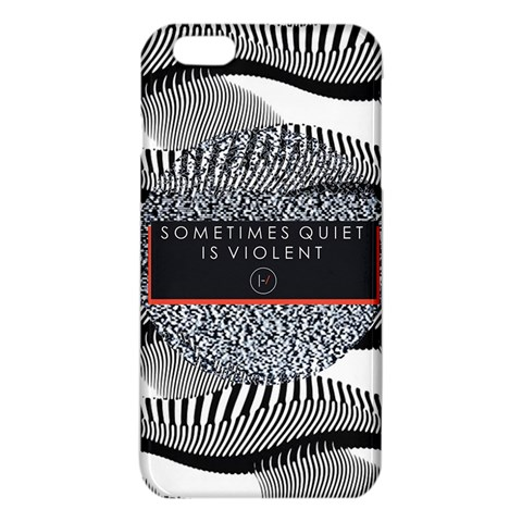 Sometimes Quiet Is Violent Twenty One Pilots The Meaning Of Blurryface Album iPhone 6 Plus/6S Plus TPU Case