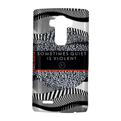 Sometimes Quiet Is Violent Twenty One Pilots The Meaning Of Blurryface Album LG G4 Hardshell Case