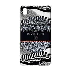 Sometimes Quiet Is Violent Twenty One Pilots The Meaning Of Blurryface Album Sony Xperia Z3+