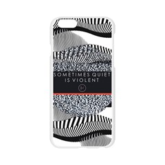 Sometimes Quiet Is Violent Twenty One Pilots The Meaning Of Blurryface Album Apple Seamless iPhone 6/6S Case (Transparent)