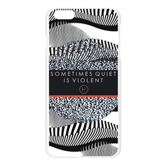 Sometimes Quiet Is Violent Twenty One Pilots The Meaning Of Blurryface Album Apple Seamless iPhone 6 Plus/6S Plus Case (Transparent)