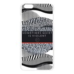 Sometimes Quiet Is Violent Twenty One Pilots The Meaning Of Blurryface Album Apple Seamless iPhone 6 Plus/6S Plus Case (Transparent) Front