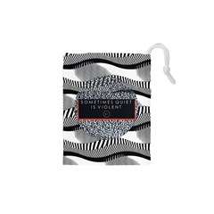Sometimes Quiet Is Violent Twenty One Pilots The Meaning Of Blurryface Album Drawstring Pouches (XS)