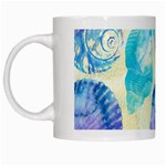 Seashells White Mugs Left