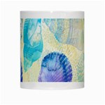 Seashells White Mugs Center