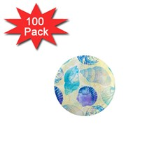 Seashells 1  Mini Magnets (100 pack)
