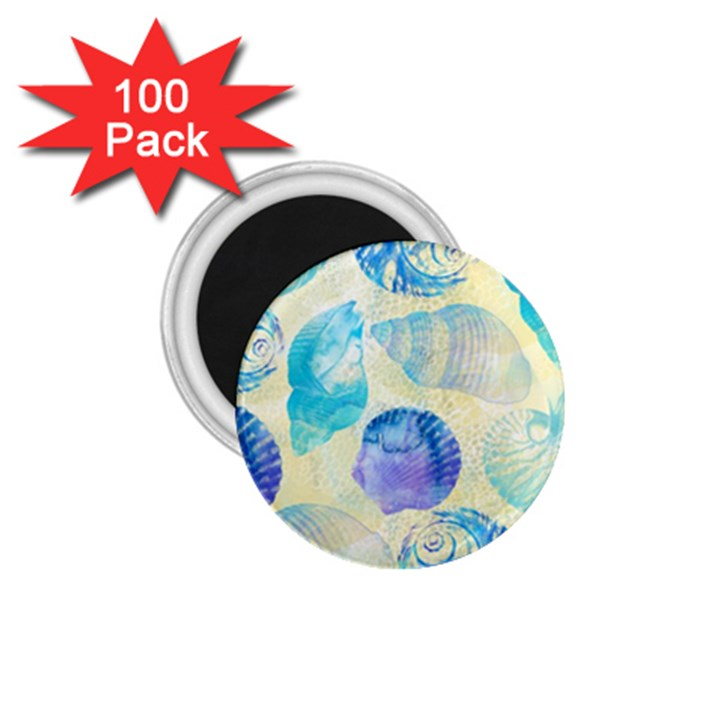 Seashells 1.75  Magnets (100 pack)