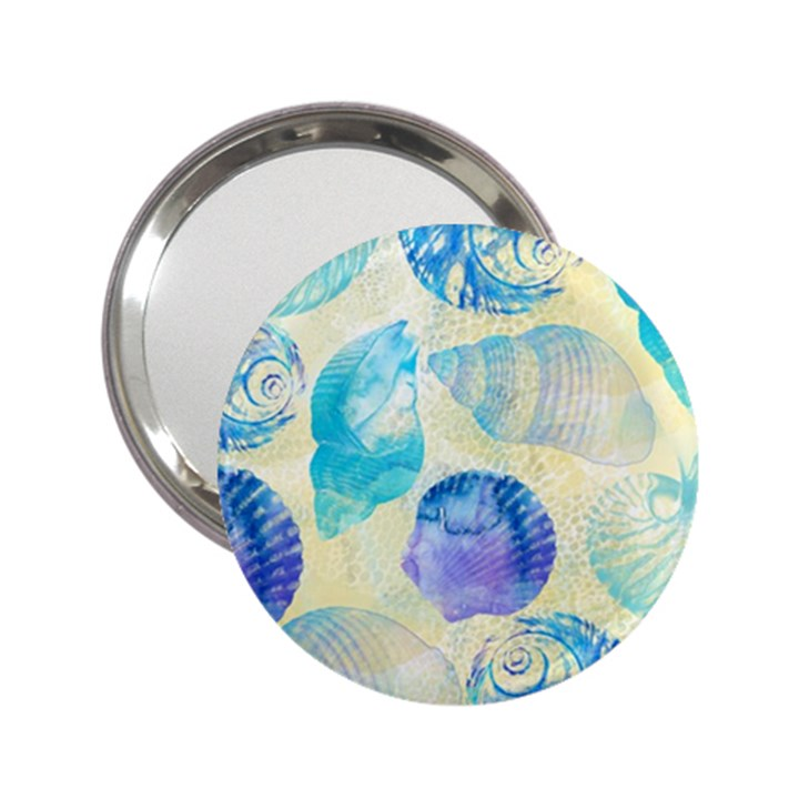 Seashells 2.25  Handbag Mirrors