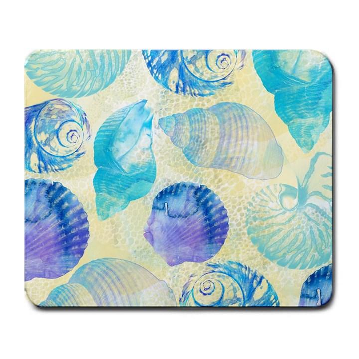 Seashells Large Mousepads