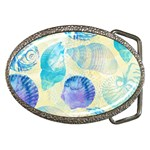Seashells Belt Buckles Front