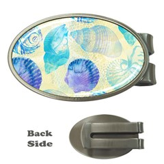 Seashells Money Clips (oval)